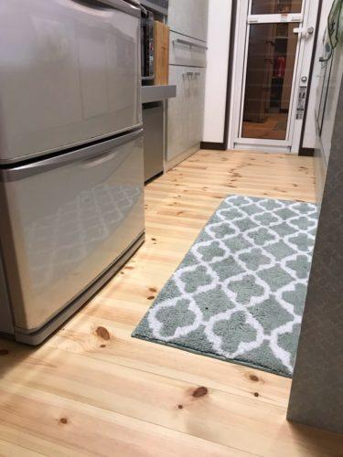 キッチン通路幅90cm